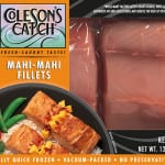 Packaged Mahi-Mahi Fillets - Flash Frozen