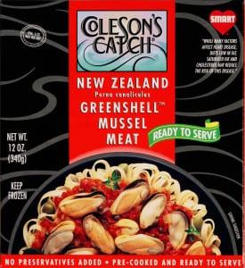 Greenshell Mussel Meat