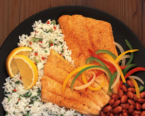 Catfish Fillet Plate