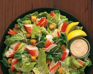 Crab Salad Chunk Plate