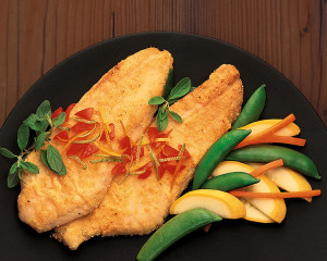 Cooked Perch