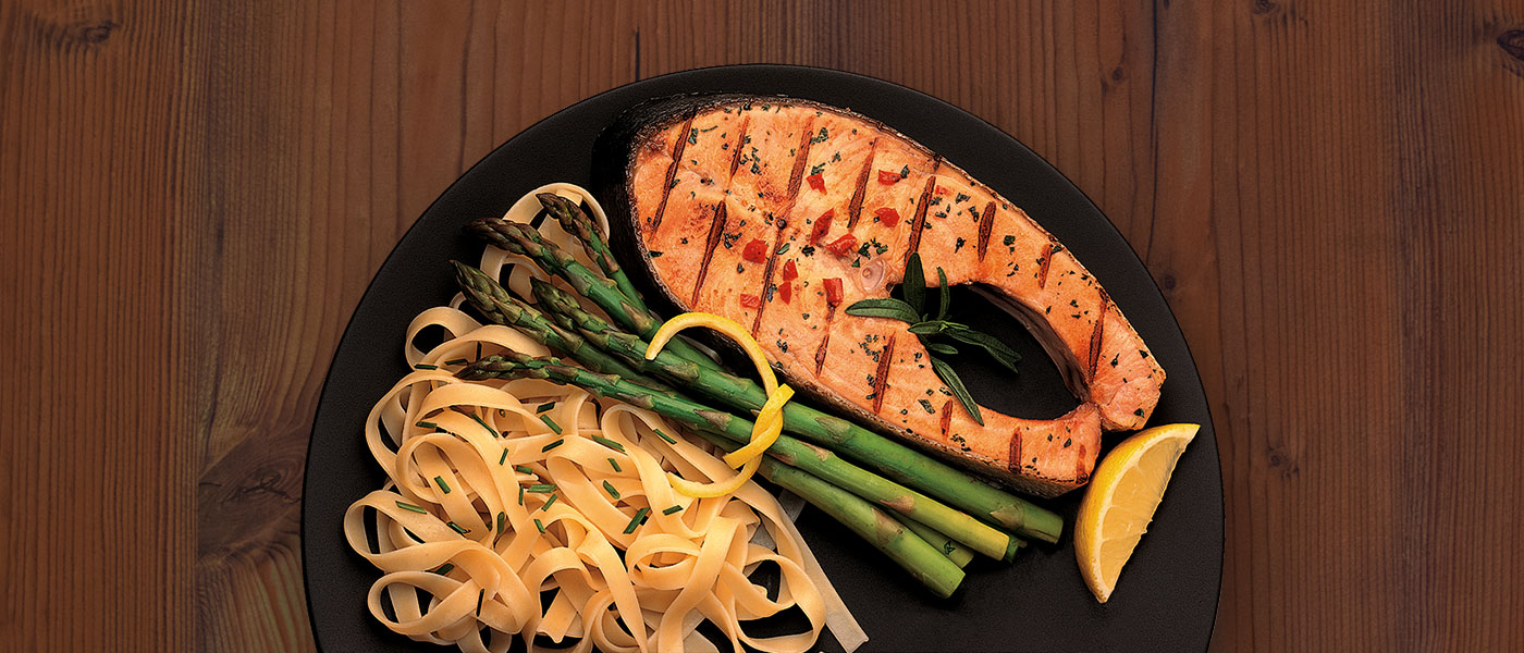 Wild Alaskan Salmon Steaks