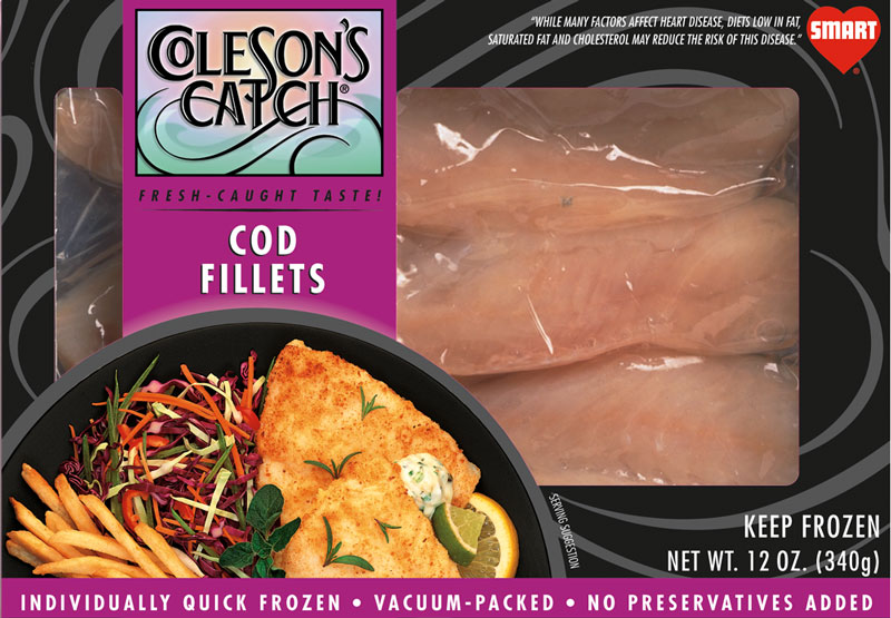 Cod Fillets with Curry and Ginger