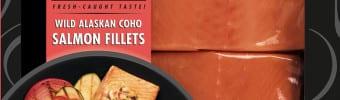 Coho Salmon Fillets - Flash Frozen