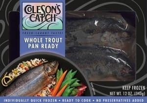Whole Trout Pan Ready