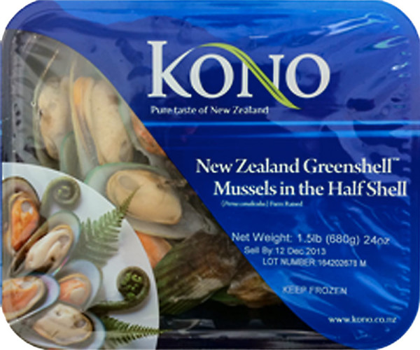 Greenshell Mussels