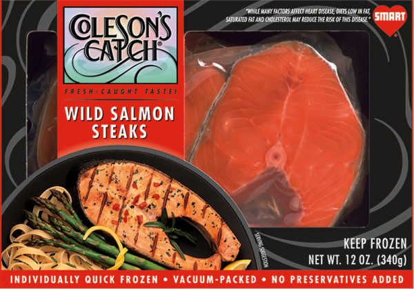 Pink Salmon Steaks